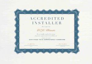 ArmaGado Installation Certificate- UCJC Ultimate