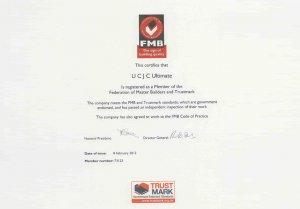 Certificate FMB UCJC Ultimate